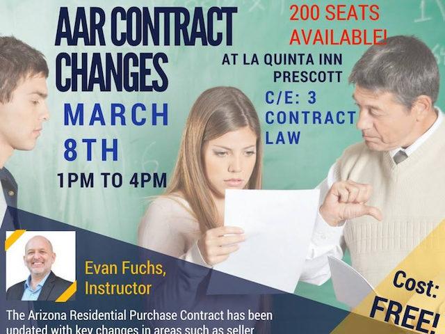 Contracts the Stick – Prescott 3/8/17