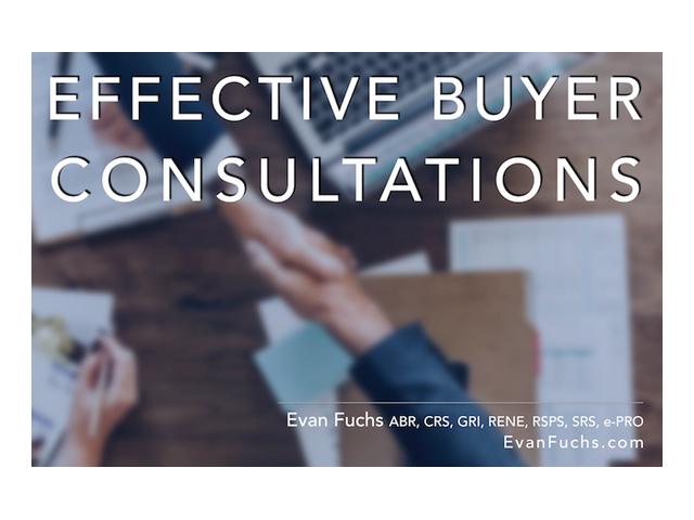 effective buyer consultations